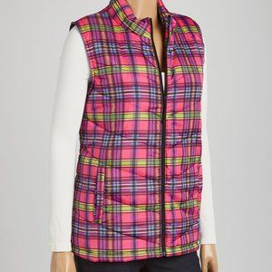 NWT Caribbean Joe Woman Quilted Puffer Vest